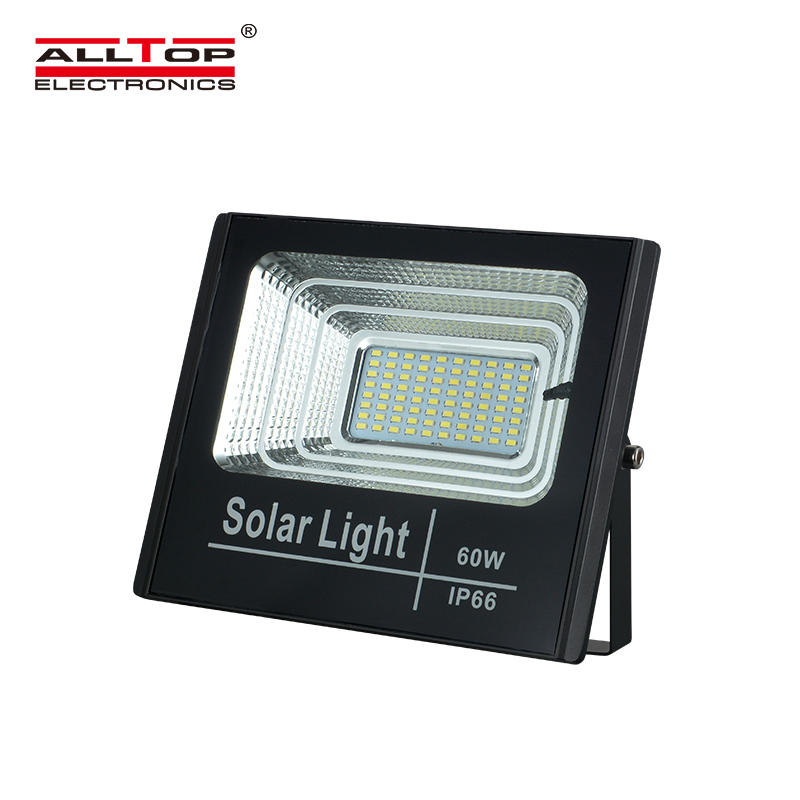 High lumen outdoor Ip65 25W 0W 60W 150W slim solar LED flood light