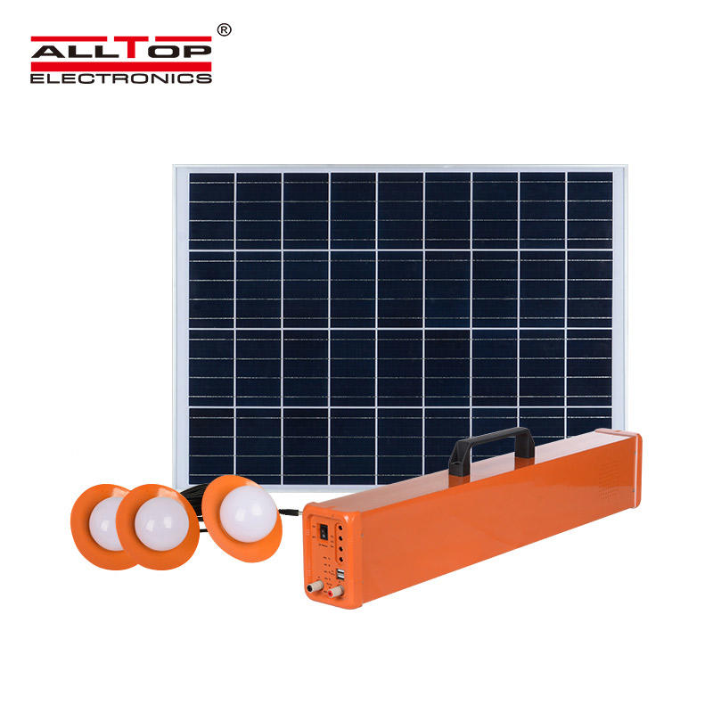 ALLTOP Solar Energy Powered 20W 30W 50W Solar System