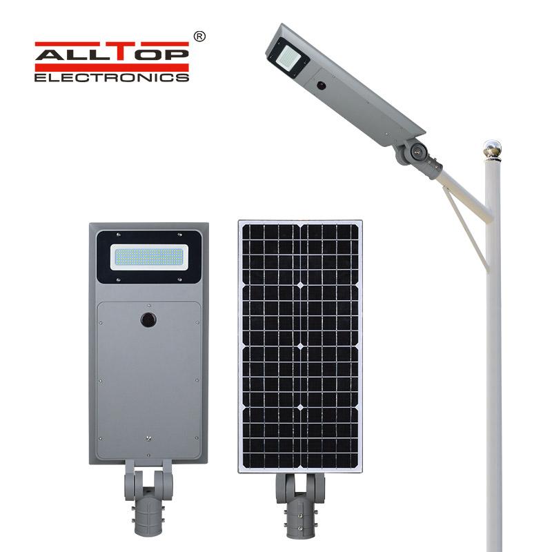ALLTOP outdoor solar pole lights series for road-1