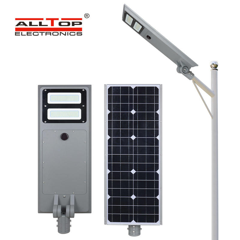 ALLTOP outdoor solar pole lights series for road