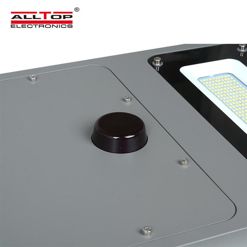 ALLTOP dimmable sensor ip65 smd integrated all in one solar led street light