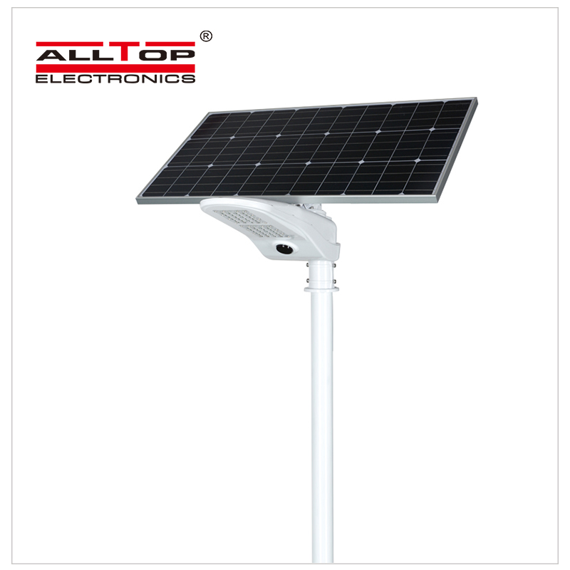 ALLTOP -Solar Light For Road | 50w Pir Motion Sensor Outdoor Waterproof Ip65 Led