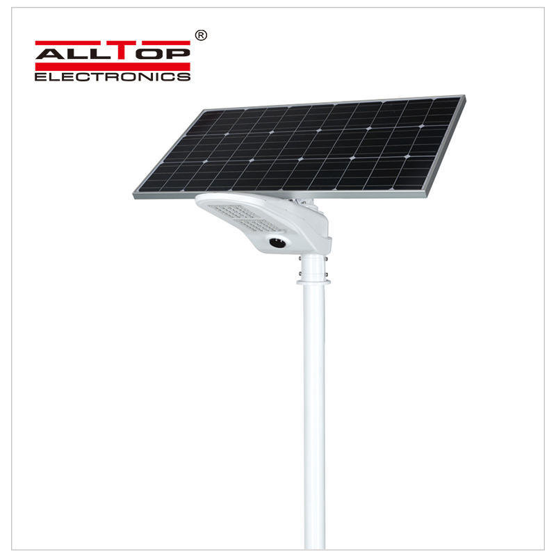 50w PIR motion sensor outdoor waterproof IP65 led solar street light