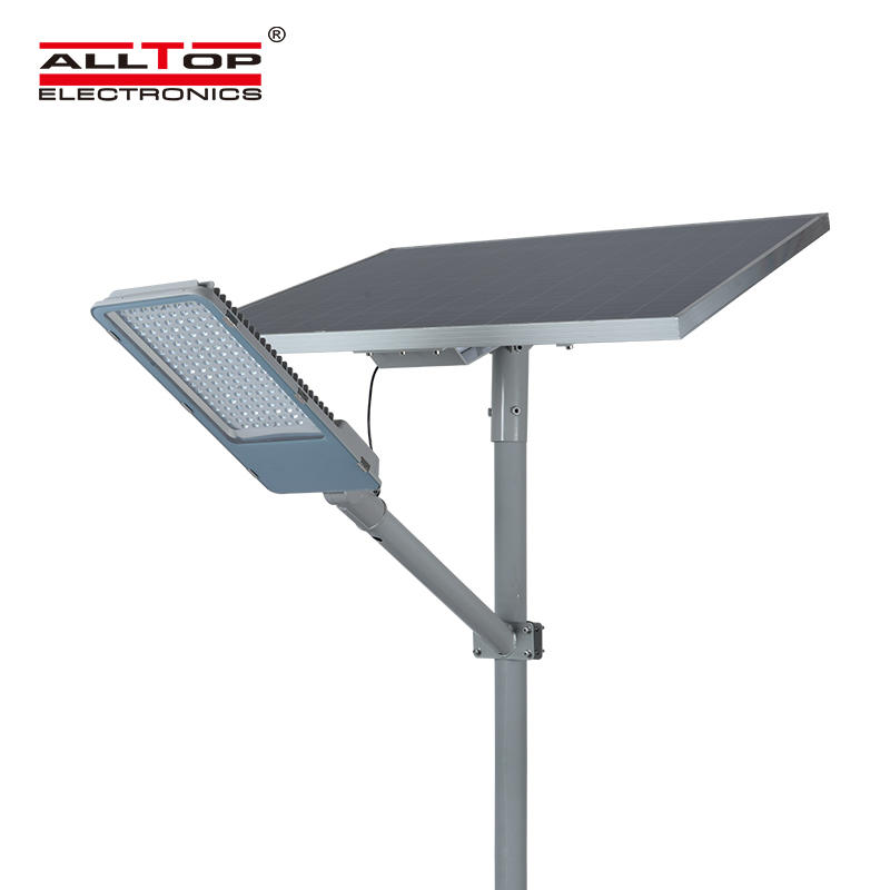 Intelligent aluminum alloy case waterproof solar street light