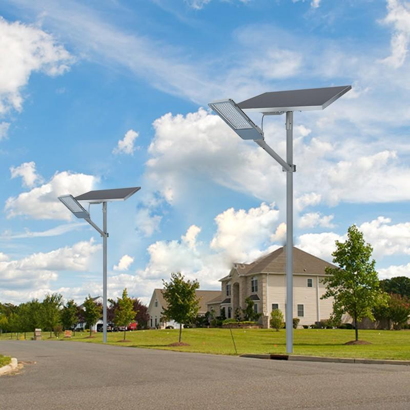 ALLTOP top selling solar street lamp post for outdoor yard