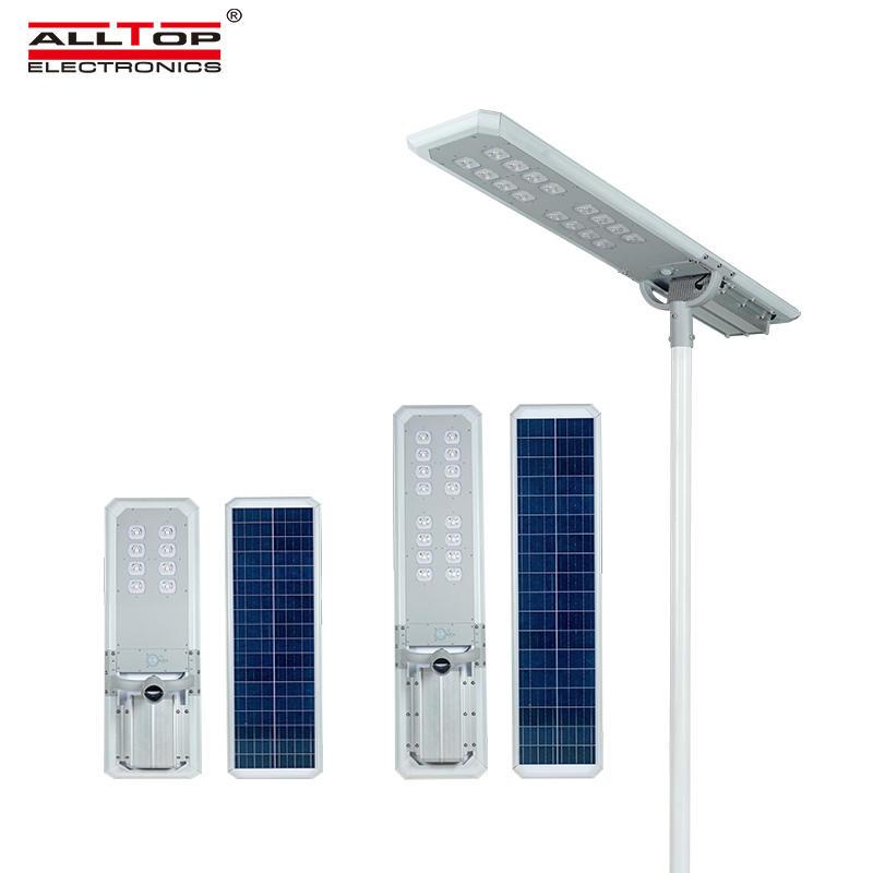 ALLTOP Outdoor intelligent integrated solar street light