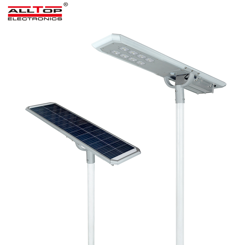 ALLTOP -outside solar lights | ALL IN ONE SOLAR STREET LIGHT | ALLTOP