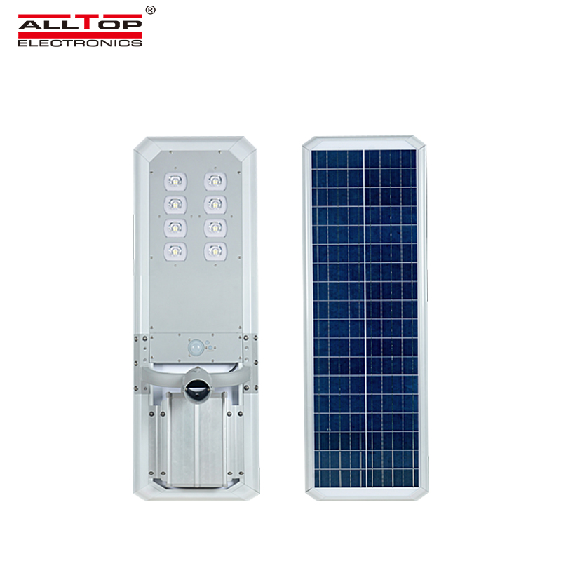 ALLTOP -outside solar lights | ALL IN ONE SOLAR STREET LIGHT | ALLTOP-1