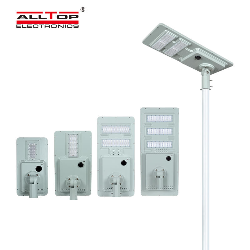 ALLTOP High quality IP65 waterproof all in one solar led street light