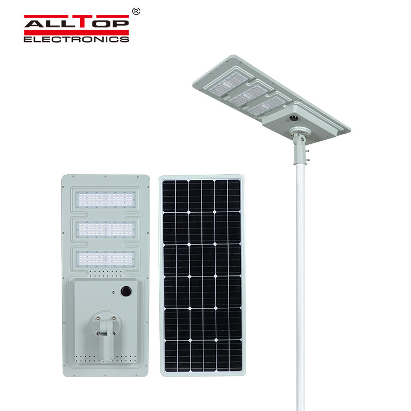 ALLTOP solar pole lights with good price for road-4