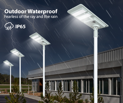 adjustable angle outside solar lights long lifespan for road-9
