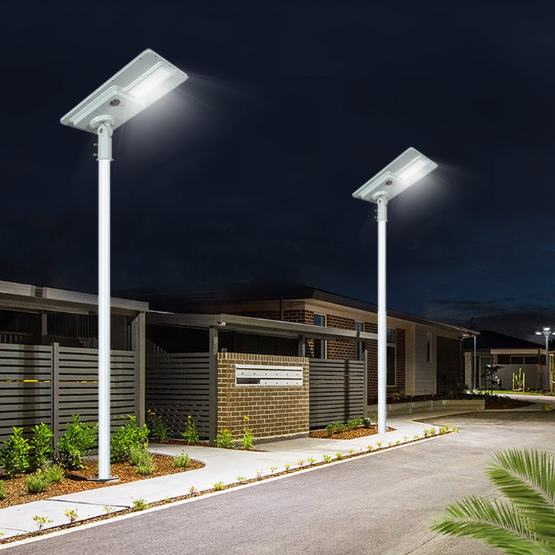adjustable angle outside solar lights long lifespan for road-13