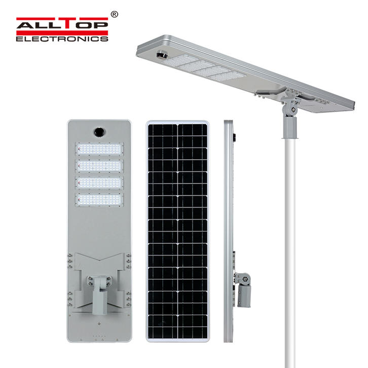 How does the solar street light work? Motion Sensor & Remote Controlled