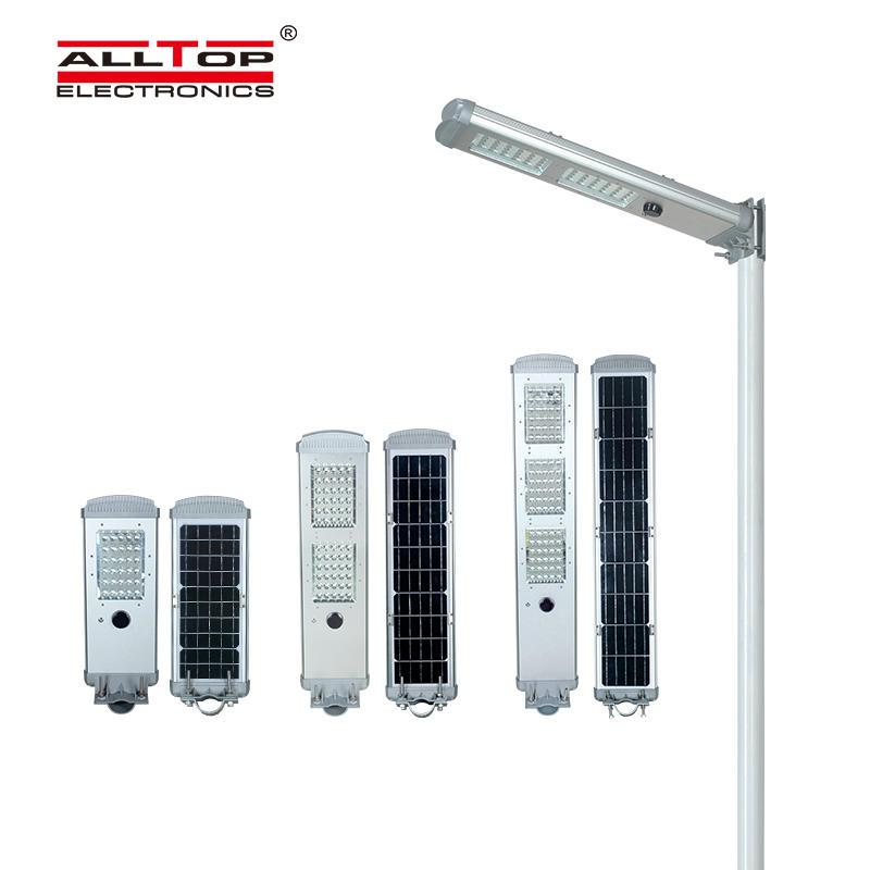 Outdoor intelligent integrated solar street light