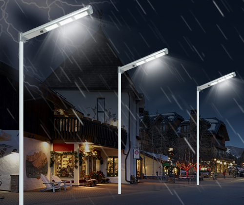 Outdoor intelligent integrated solar street light-7