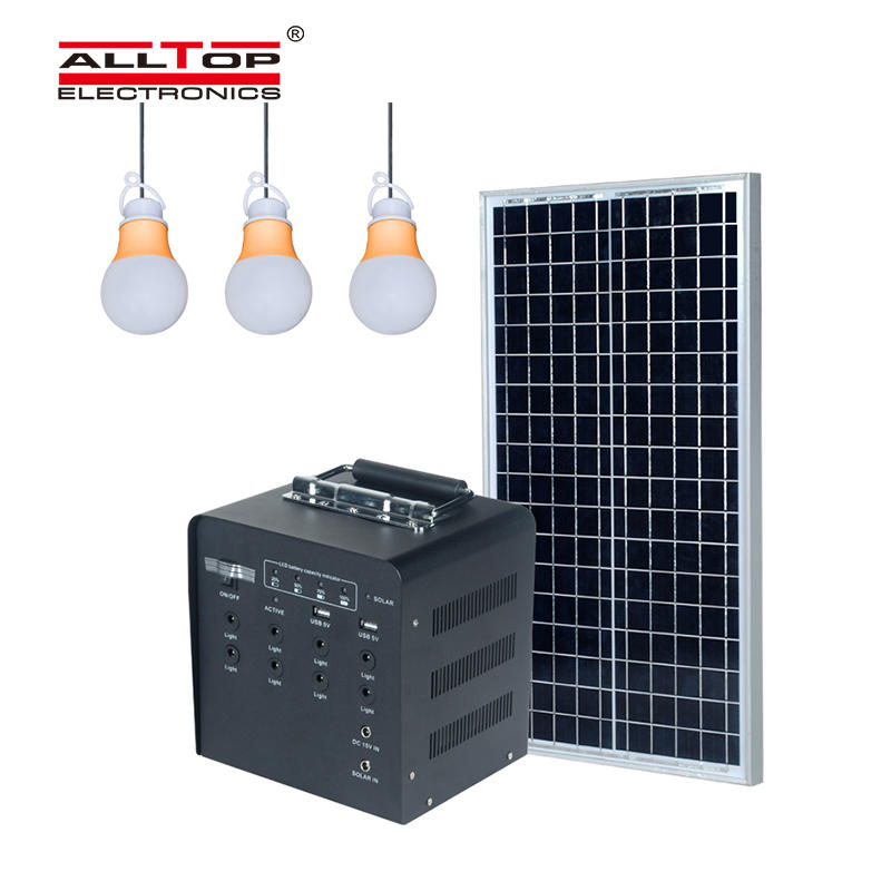 abs solar lighting system wholesale for outdoor lighting