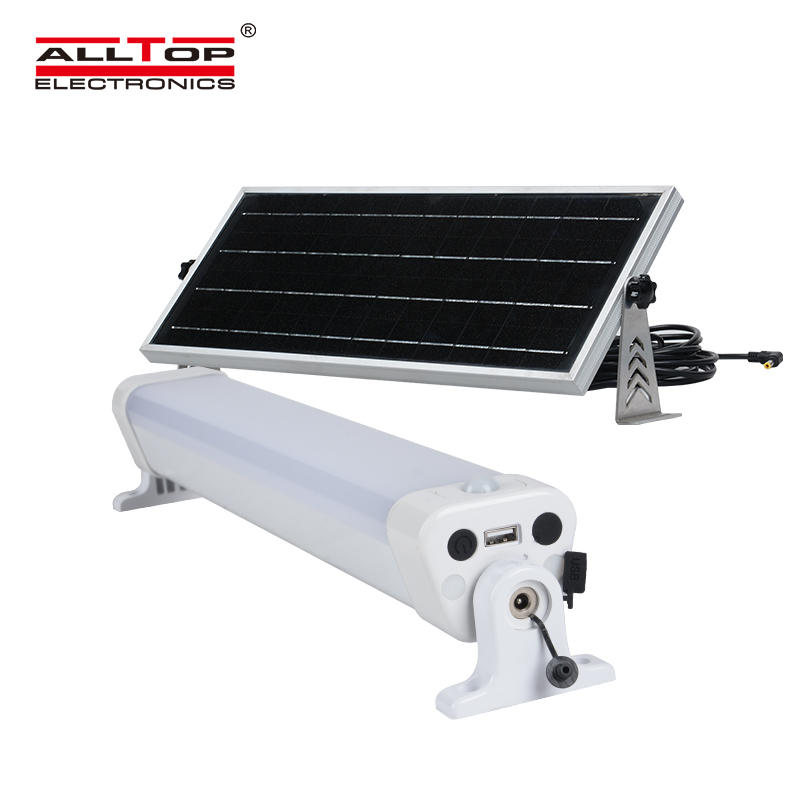 IP65 LED tri proof solar lighting
