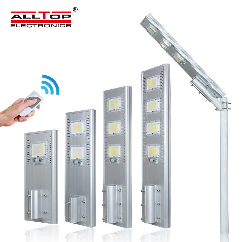 ALLTOP brigelux smd waterproof all in one solar led street light