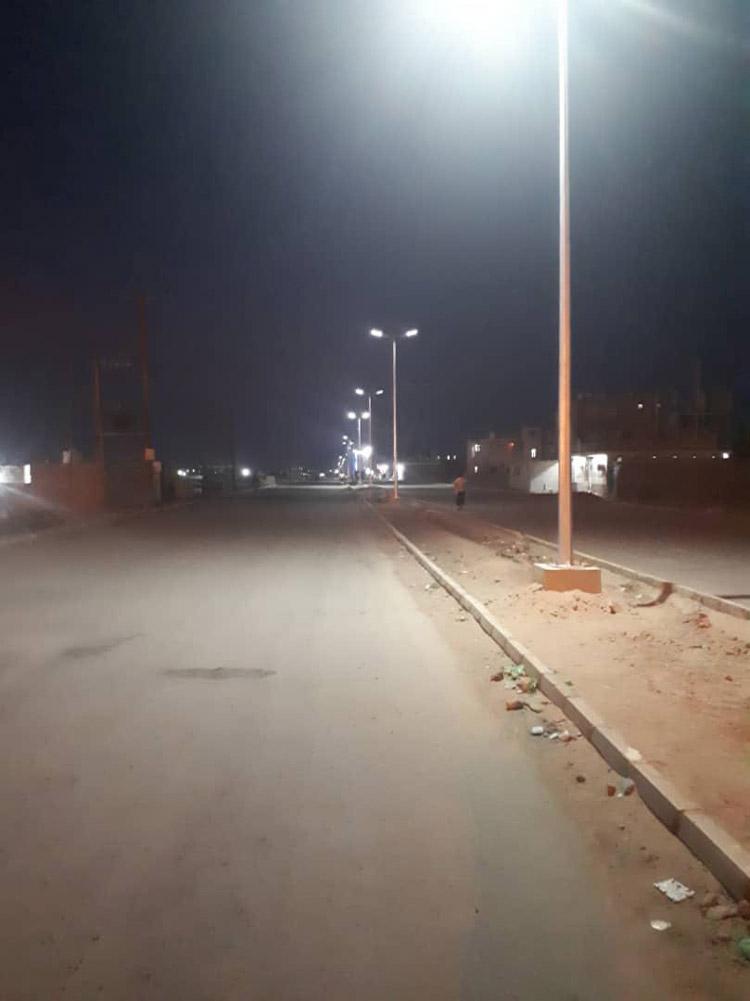 ALLTOP -180w Solar Street Light Applied To The Saudi Government Project-5