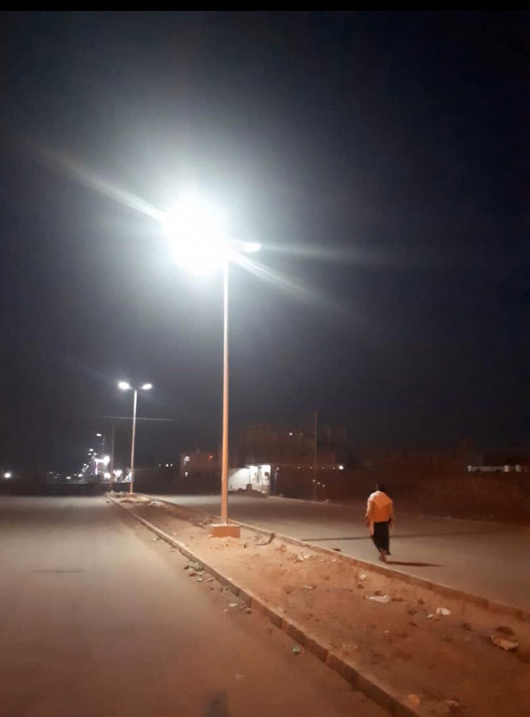 ALLTOP -180w Solar Street Light Applied To The Saudi Government Project-6