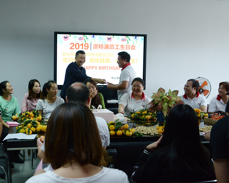 news-ALLTOP -Hold company employee birthday activities-img-1