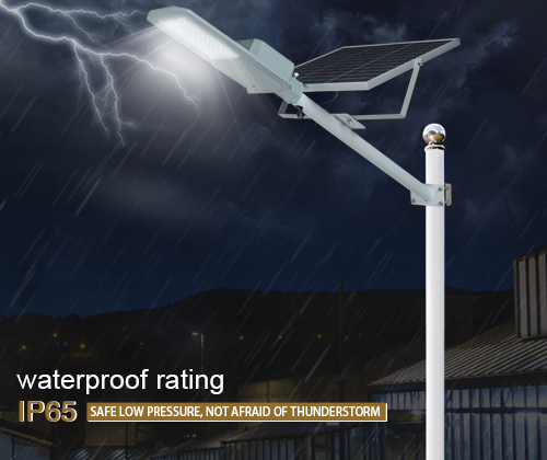ALLTOP 30w solar street light shining rightness for playground-5