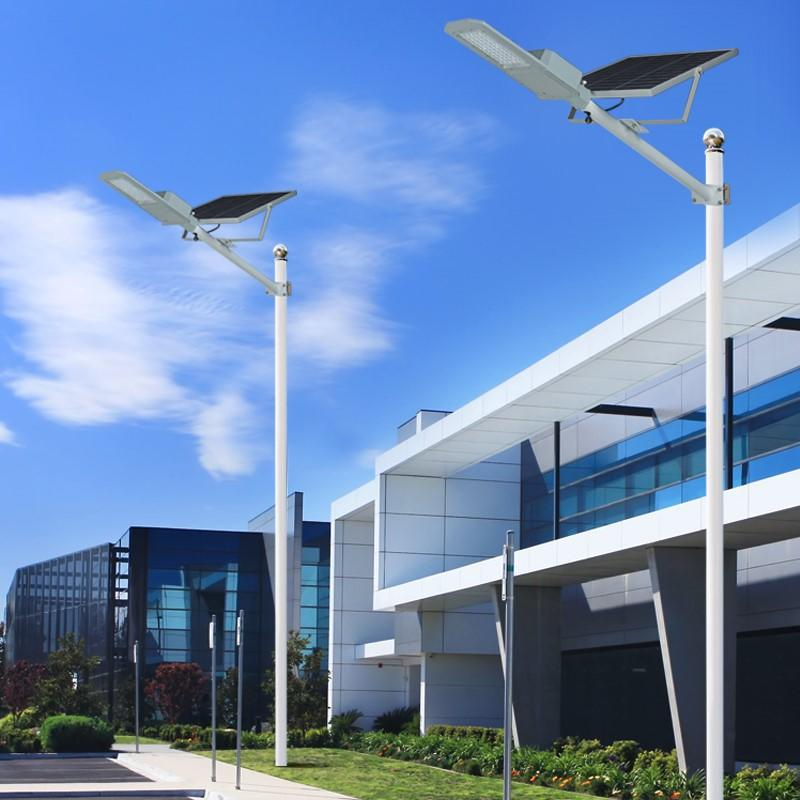 ALLTOP 30w solar street light shining rightness for playground