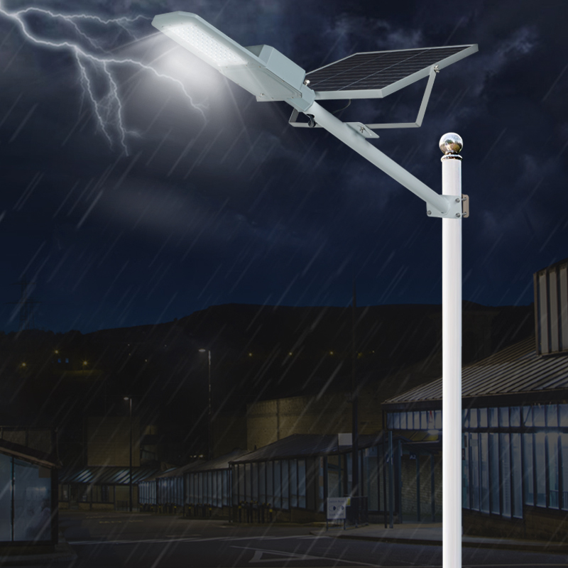 ALLTOP 30w solar street light shining rightness for playground-10