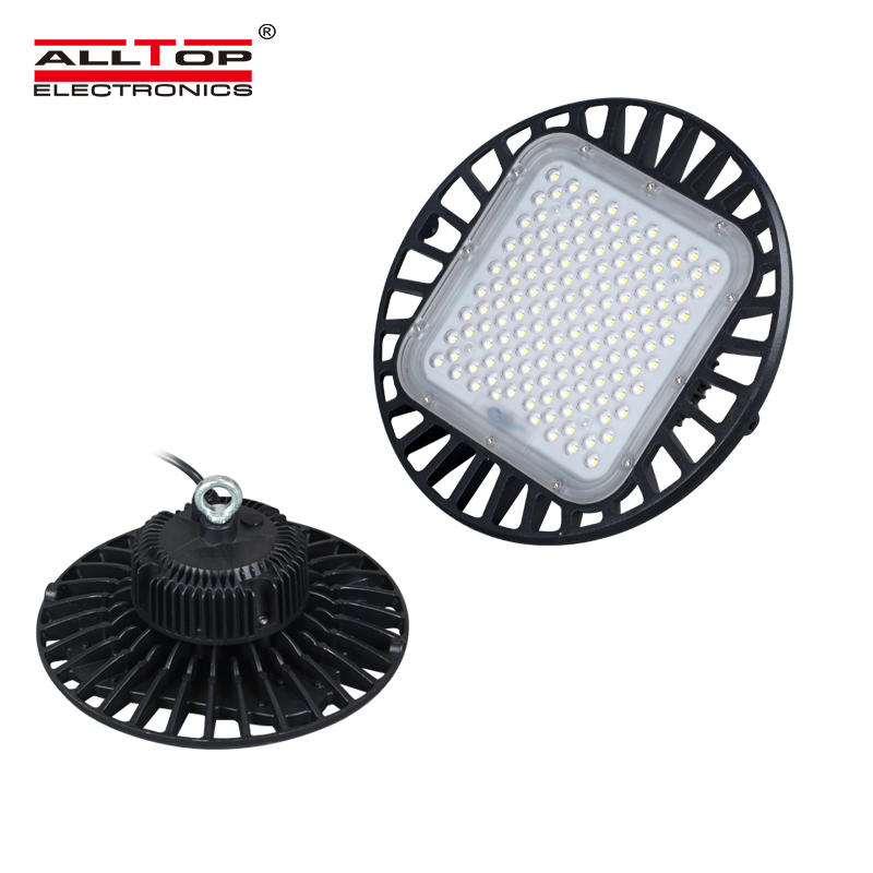 High quality factory industrial warehouse smd Aluminum 100W 150w 200w ufo led high bay light