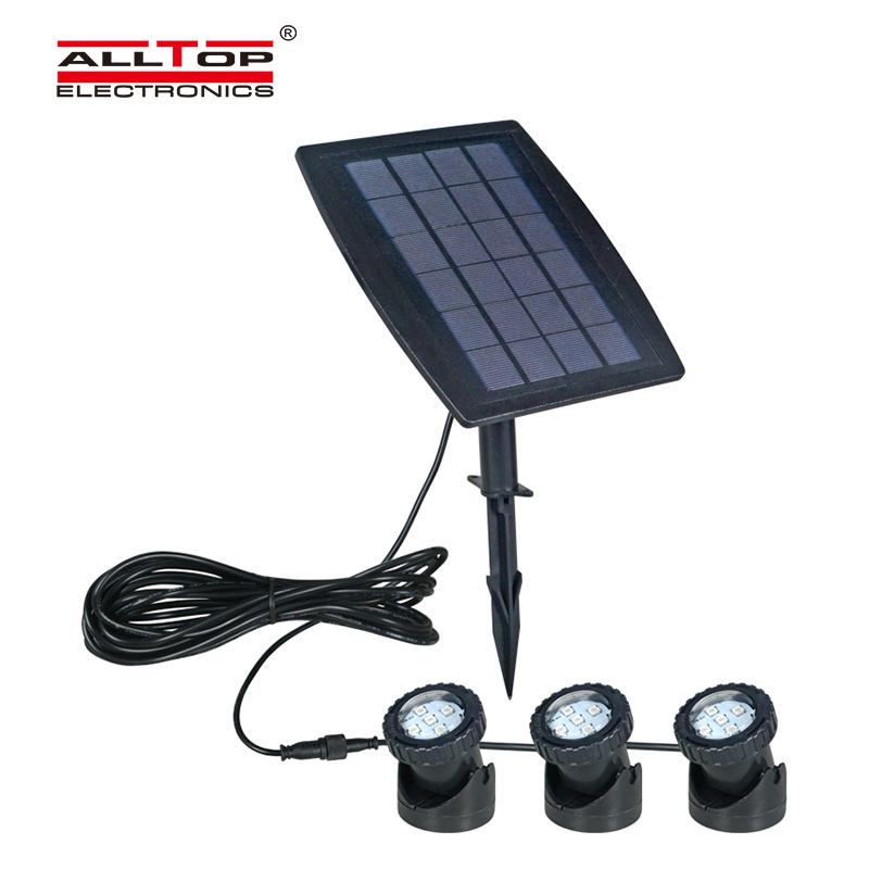 Solar Linear LED Flood Light IP65 Diving Light Solar Powered Spotlight