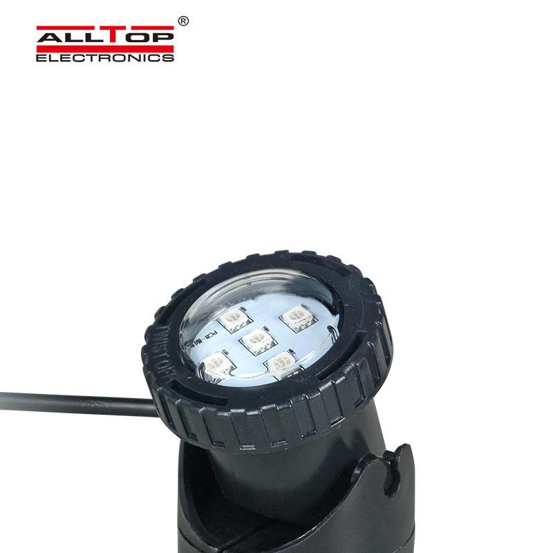 Solar Linear LED Flood Light IP65 Diving Light Solar Powered Spotlight