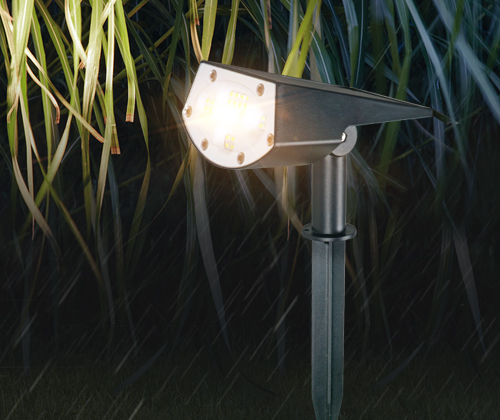 product-IP65 Waterproof Outdoor LED Solar Rotating Garden Light-ALLTOP -img