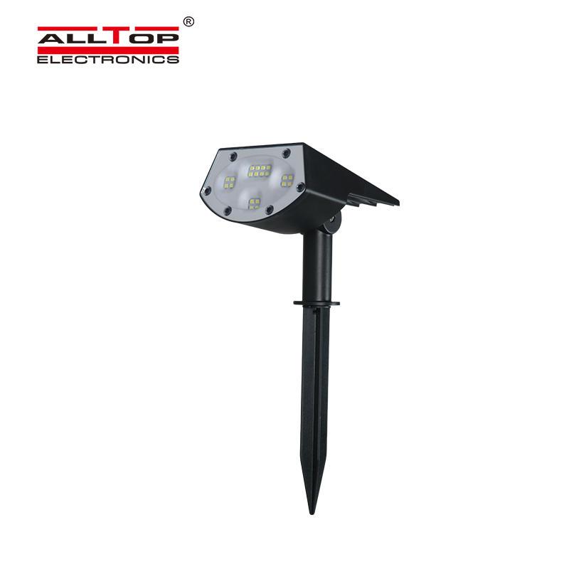 IP65 Waterproof Outdoor LED Solar Rotating Garden Light