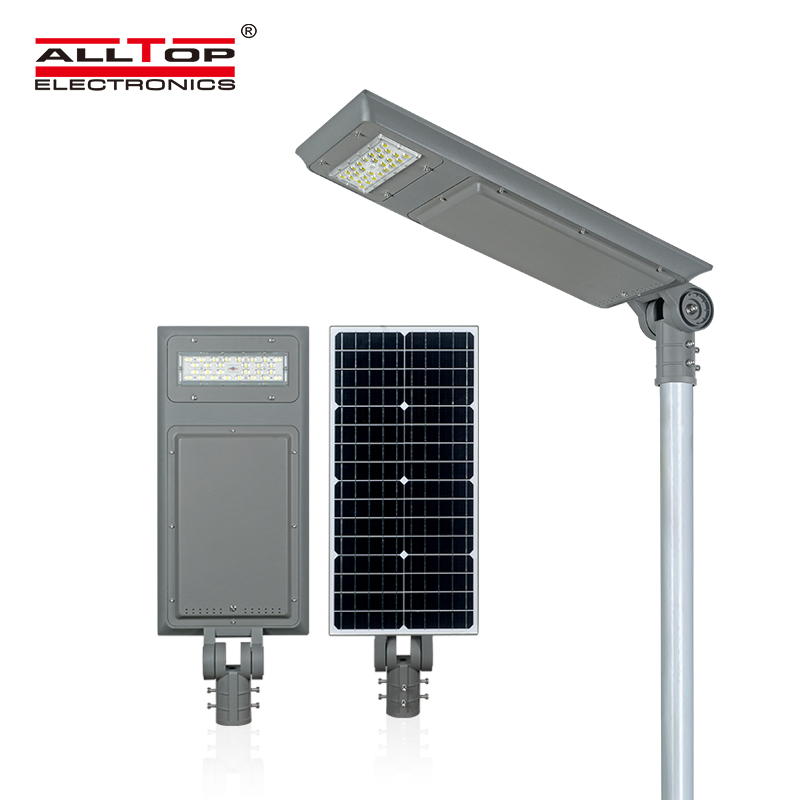product-Outdoor LiFePO4 Lithium Battery All In One Led Solar Street Light-ALLTOP -img
