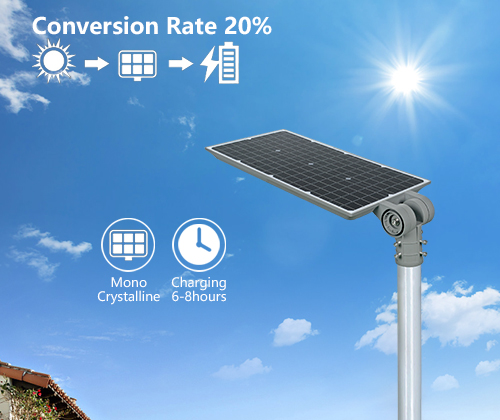 outdoor 60w all in one solar street light directly sale for garden-9