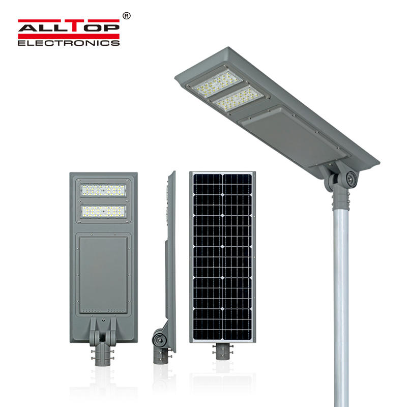 Outdoor LiFePO4 Lithium Battery All In One Led Solar Street Light