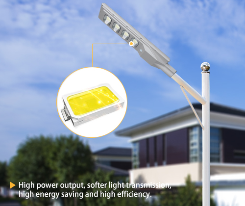 ALLTOP solar pole lights series for highway-7