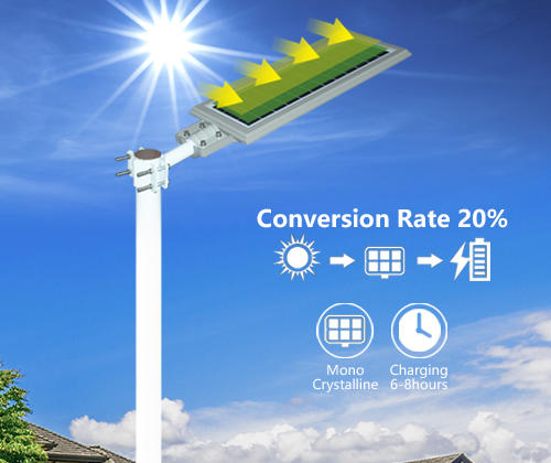 ALLTOP high-quality 60w all in one solar street light series for garden