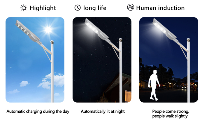 ALLTOP solar pole lights series for highway-12