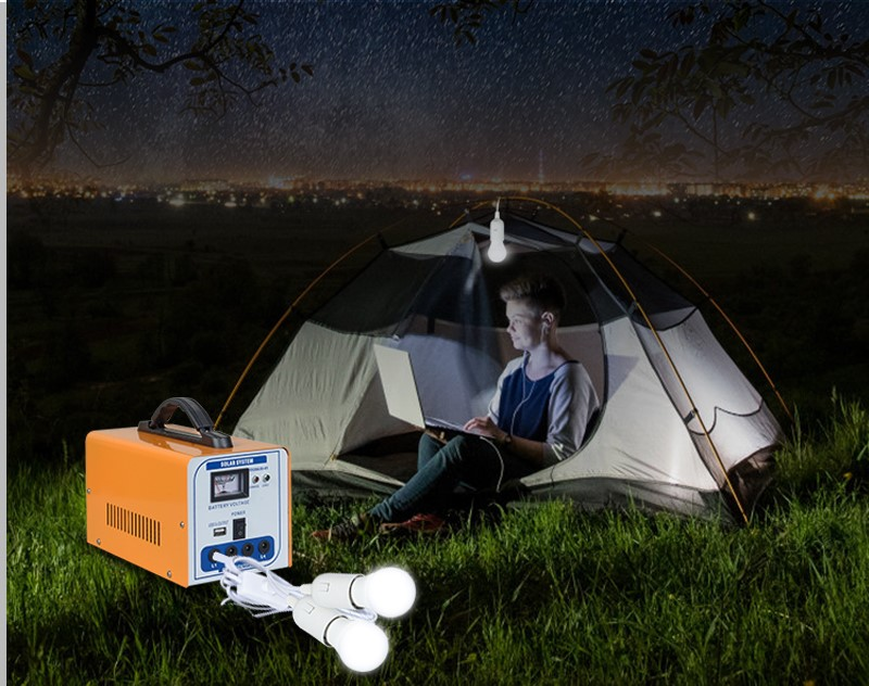 ALLTOP 12v solar lighting system factory direct supply for camping-8