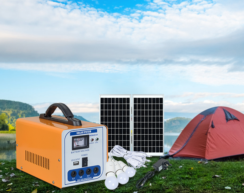 ALLTOP 12v solar lighting system factory direct supply for camping-10