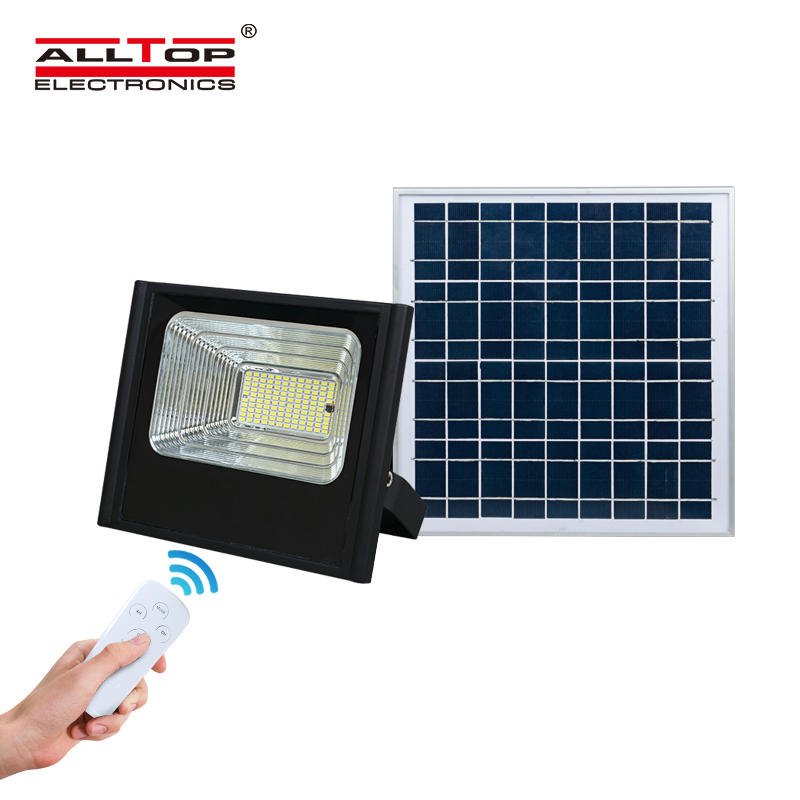 Emergency solar led flood light