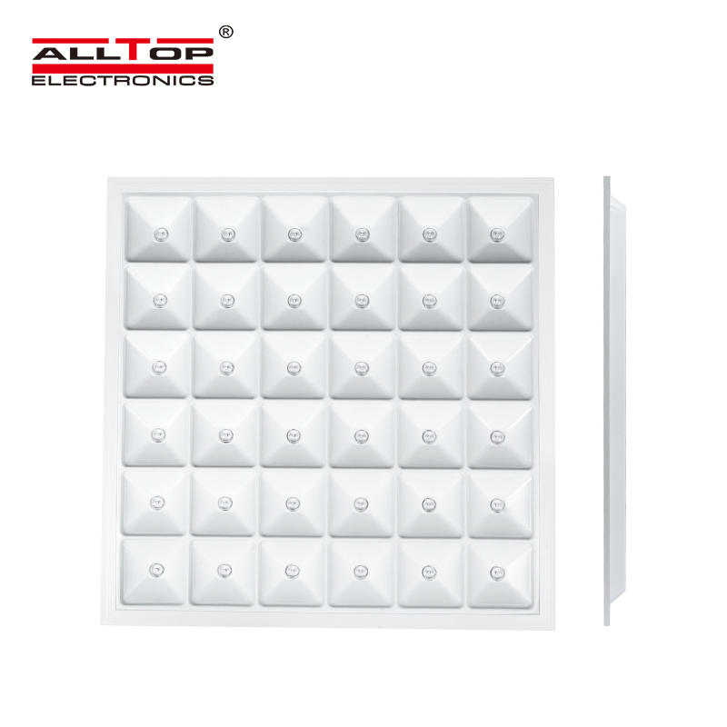 High quality modern interior square flat led panel lighting