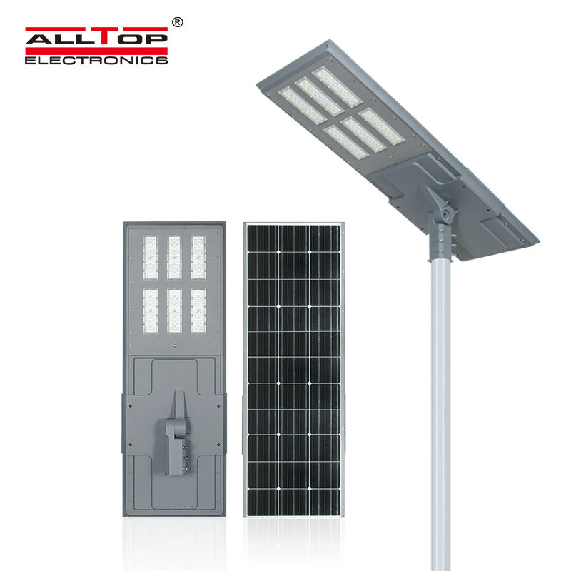 ALLTOP Hot sell outdoor ip65 waterproof 150w integrated led solar street light