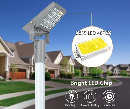 ALLTOP powered solar flood lights OEM for spotlight-6