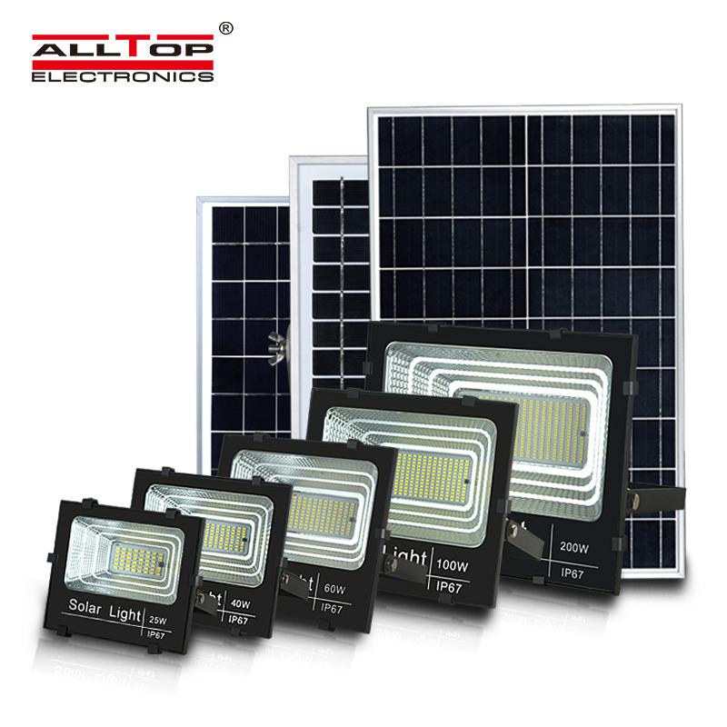 Outdoor 25W-300W LED Solar Flood Light-ALLTOP