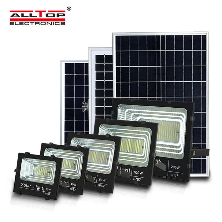 Outdoor 25W-300W LED Solar Flood Light