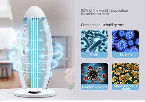 remote control disinfection lamp wholesale for air disinfection-3