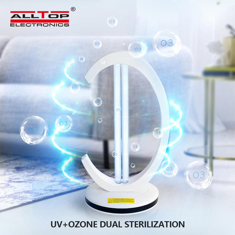 Germicidal UV Lamp Sterilization
