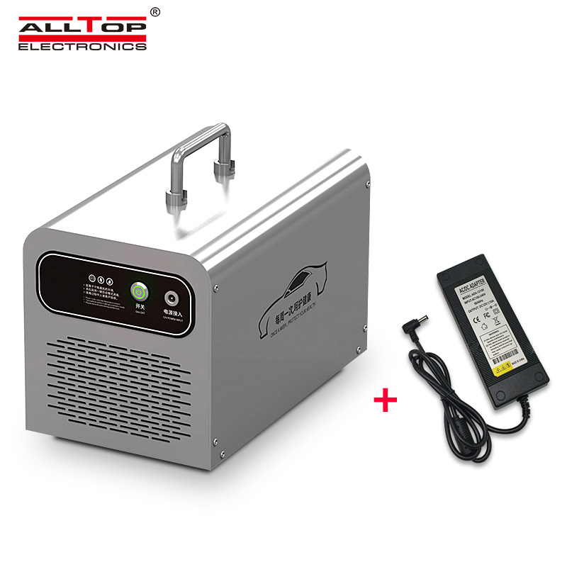 product-Small Ozone Generator Negative Ions Air Purifier For Vehicles-ALLTOP -img